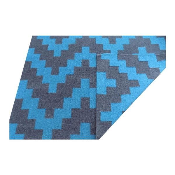 Vlnený koberec Kilim Modern 43, 100x160 cm
