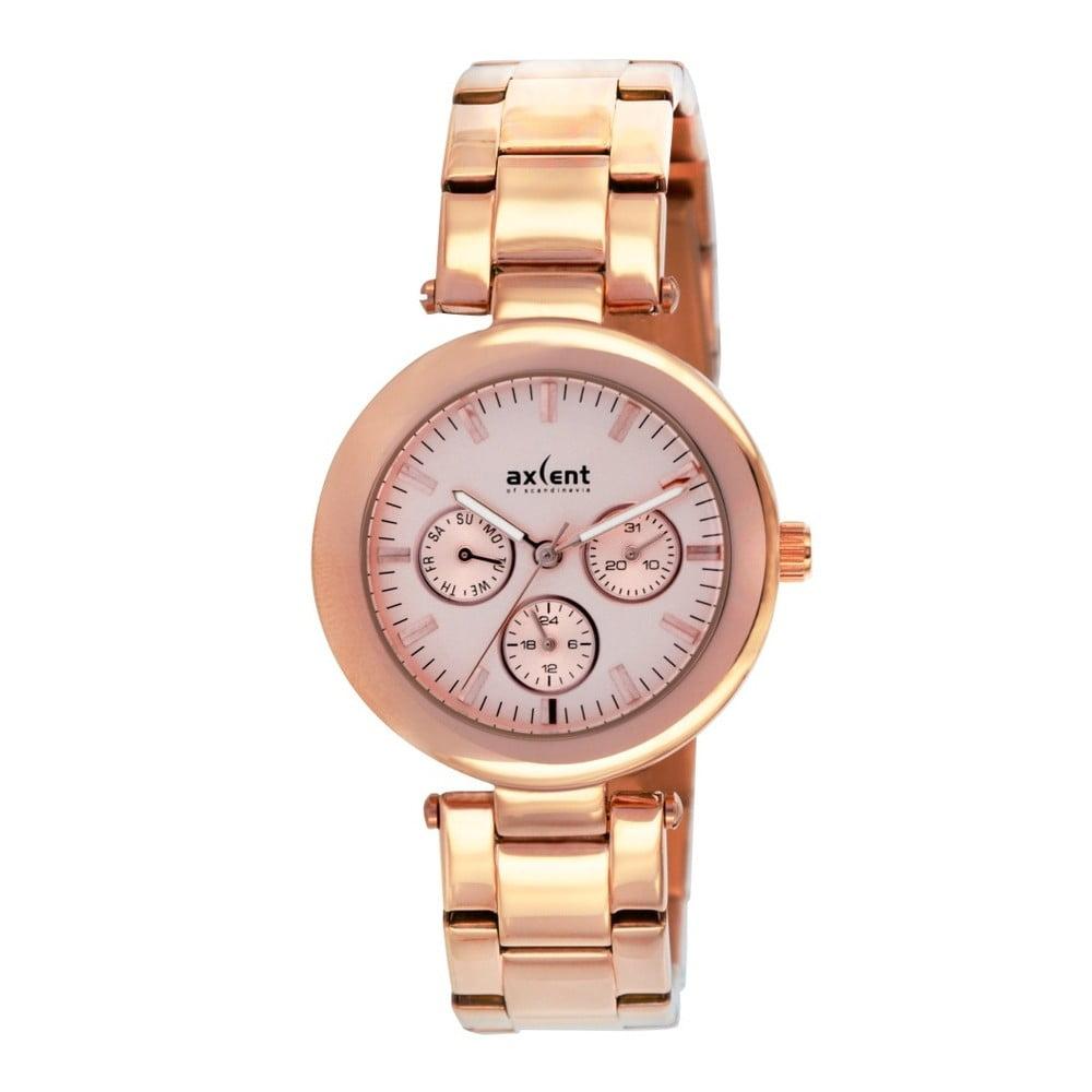 c62190682 Zlaté dámske hodinky Axcent od Scandinavia Connection   Bonami