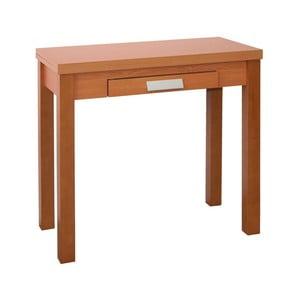 Rozkladací jedálenský stôl v dekore čerešňového dreva Pondecor Erwina, 40×80cm