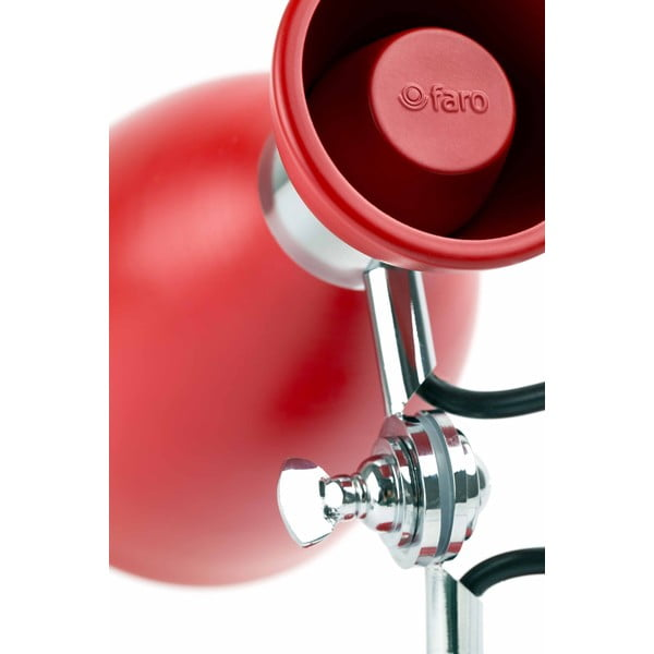 Nástenné svietidlo Retro Rosso