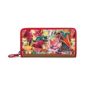 Peňaženka Lois Rojo, 19x10 cm