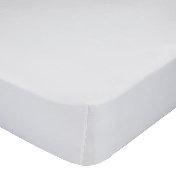 Biela elastická plachta Little WHappynois, 90×200cm