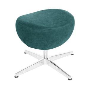 Tyrkysová otočná stolička/podnožka My Pop Design Vostell