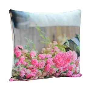 Vankúš Pink Roses, 45x45 cm