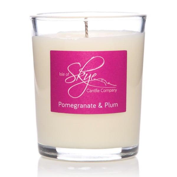 Sviečka s vôňou granátového jablka a sliviek Skye Candles Container, dĺžka horenia 12 hodín
