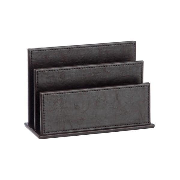 Koženkový stojan na časopisy Leather