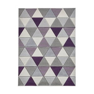 Fialový koberec Think Rugs Matrix, 160 x 220 cm