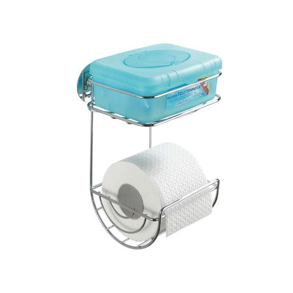 Samodržiaci dvojposchodový stojan na toaletný papier Wenko Turbo, až 40 kg