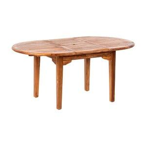 Rozkladací záhradný stôl z teakového dreva Massive Home Rosaline, délka 160cm