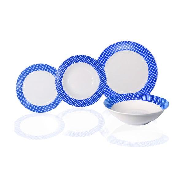 19-dielna sada tanierov Vajilla Azul