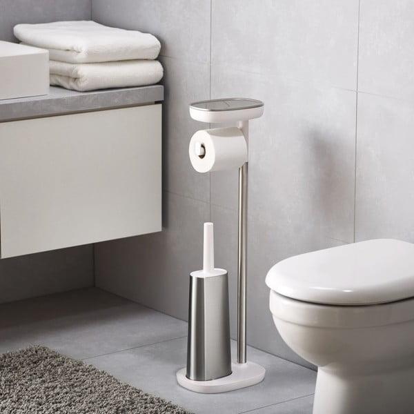 Stojan na toaletný papier a toaletná kefa Joseph Joseph easyStore