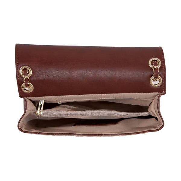 Kožená kabelka Andrea Cardone 2024 Brown