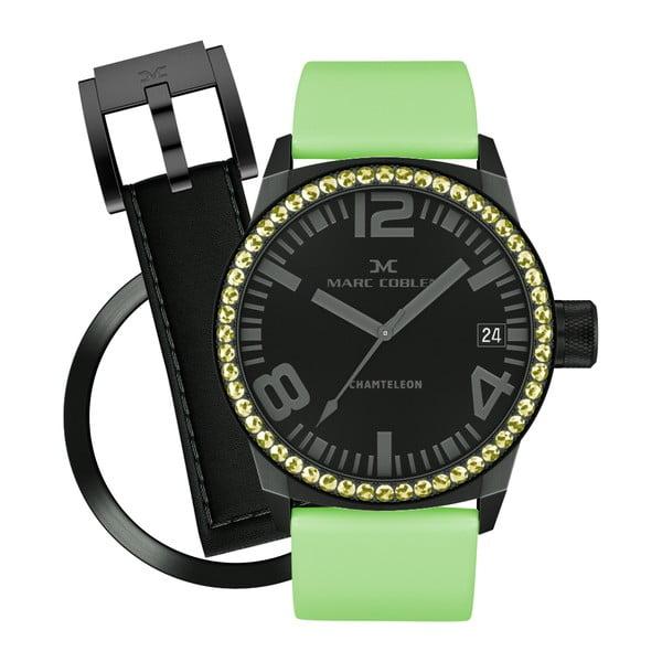 Dámske hodinky Marc Coblen s remienkom a krúžkom na ciferník naviac P105