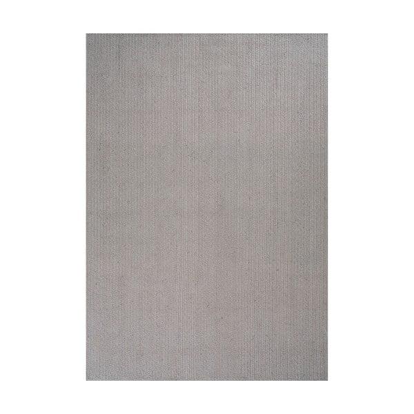 Jutový koberec Mendoza Grey, 160x230 cm