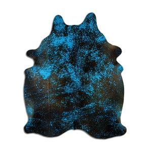 Pravá hovädzia koža Arctic Fur Turq, 244 × 207 cm