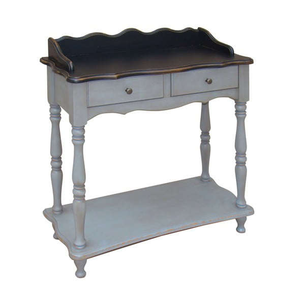 Odkladací stolík so zásuvkami Belgique Grey