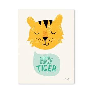 Plagát Michelle Carlslund Hey Tiger, A4