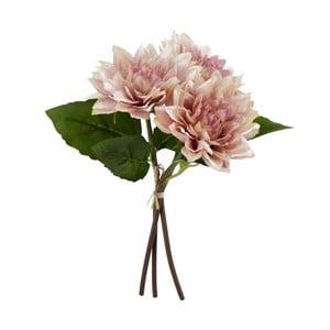 Ružová umelá kvetina Moycor Dahlia