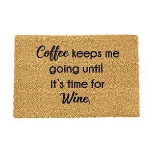 Rohožka Artsy Doormats Coffee Keeps Me Going, 40 × 60 cm