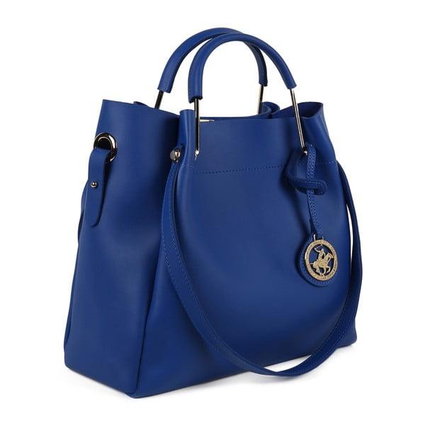 Modrá kabelka z eko kože Beverly Hills Polo Club Amy