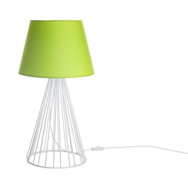 Stolová lampa Wiry Lime/White