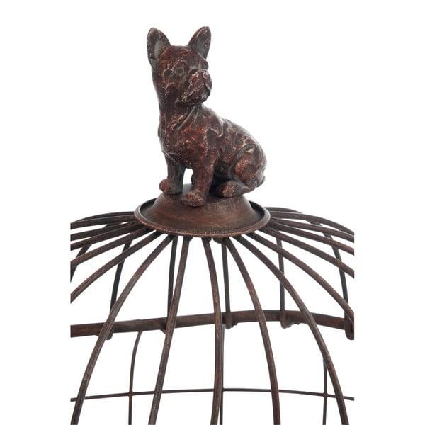 Dekoratívna klietka so psíkom