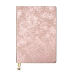 Ružový zápisník A5 GO Stationery All That Glitters Blush