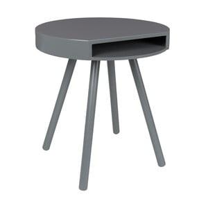 Sivý odkladací stolík Zuiver Hide & Seek