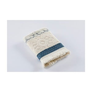 Krémový bavlnený uterák Bella Maison Azur, 50×90 cm