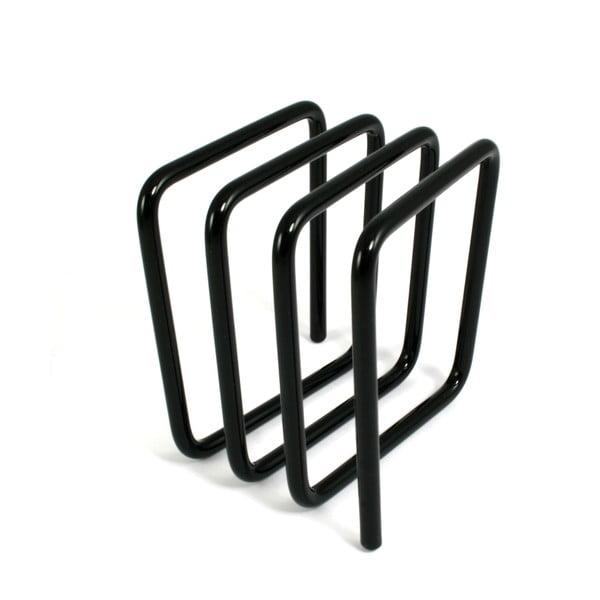 Čierny stojan na listy Letter Rack