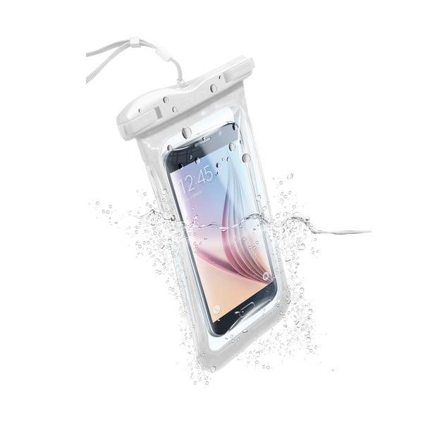Vodoodolné univerzálne puzdro Cellularline VOYAGER, biele