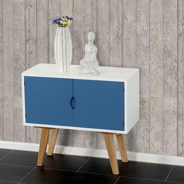 Menšia komoda Vaasa Blue, 60x55 cm