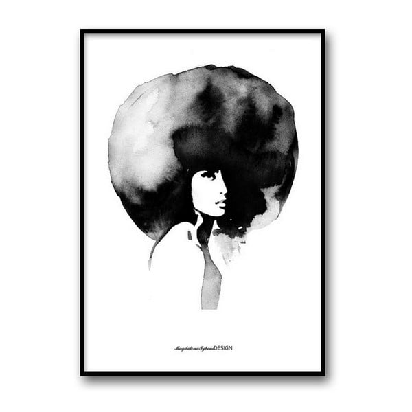 Autorský plagát Woman, 30x40 cm