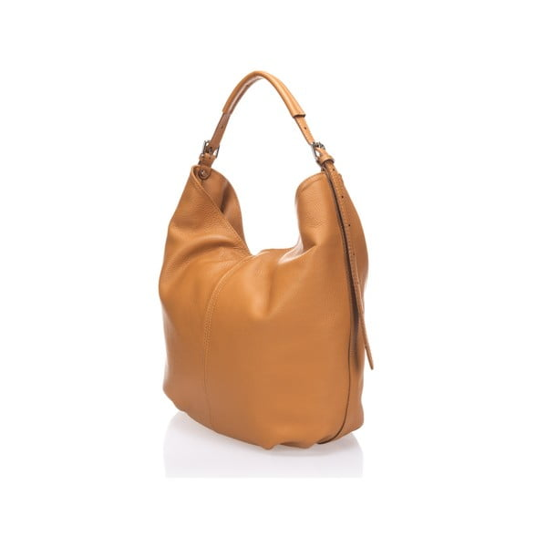 Kožená kabelka Cogny, koňaková