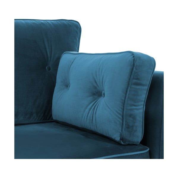 Modrá dvojmiestna pohovka Vivonita Portobello