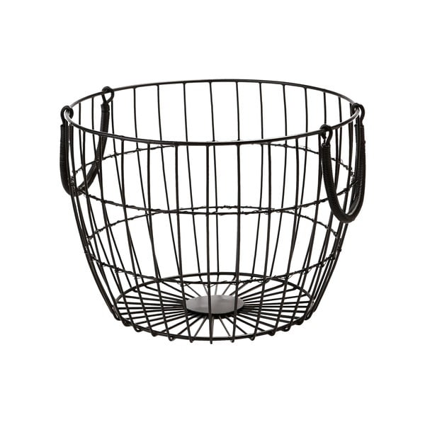 Kovový košík Troya, 30x22 cm
