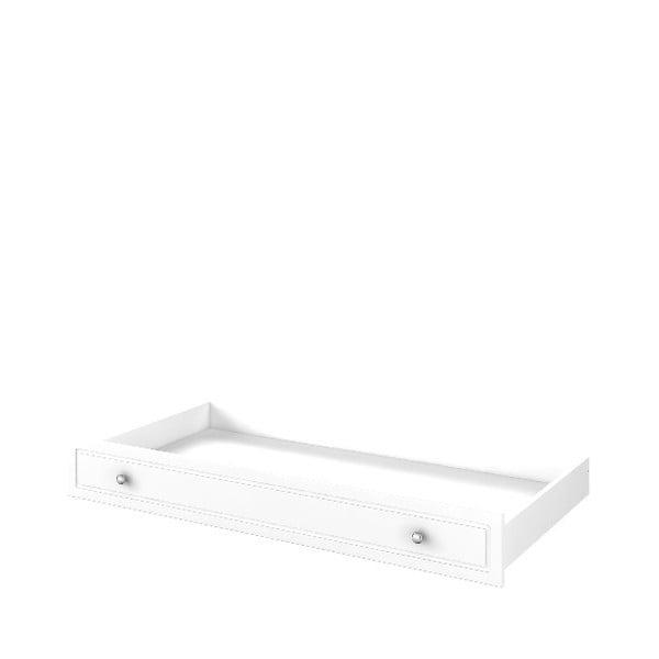 Biela zásuvka pod postieľku BELLAMY Marylou, 70×140 cm
