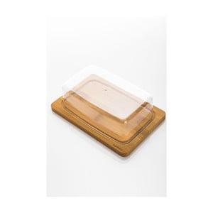 Nádoba na maslo s bambusovou miskou Bambum Novita