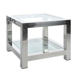 Odkladací stolík Steel Silver