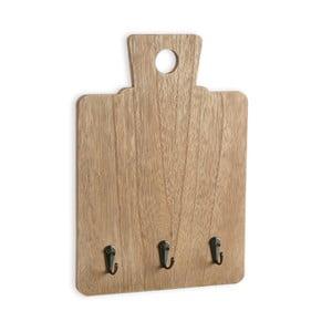 Nástenný vešiak na kľúče Versa Wooden Note