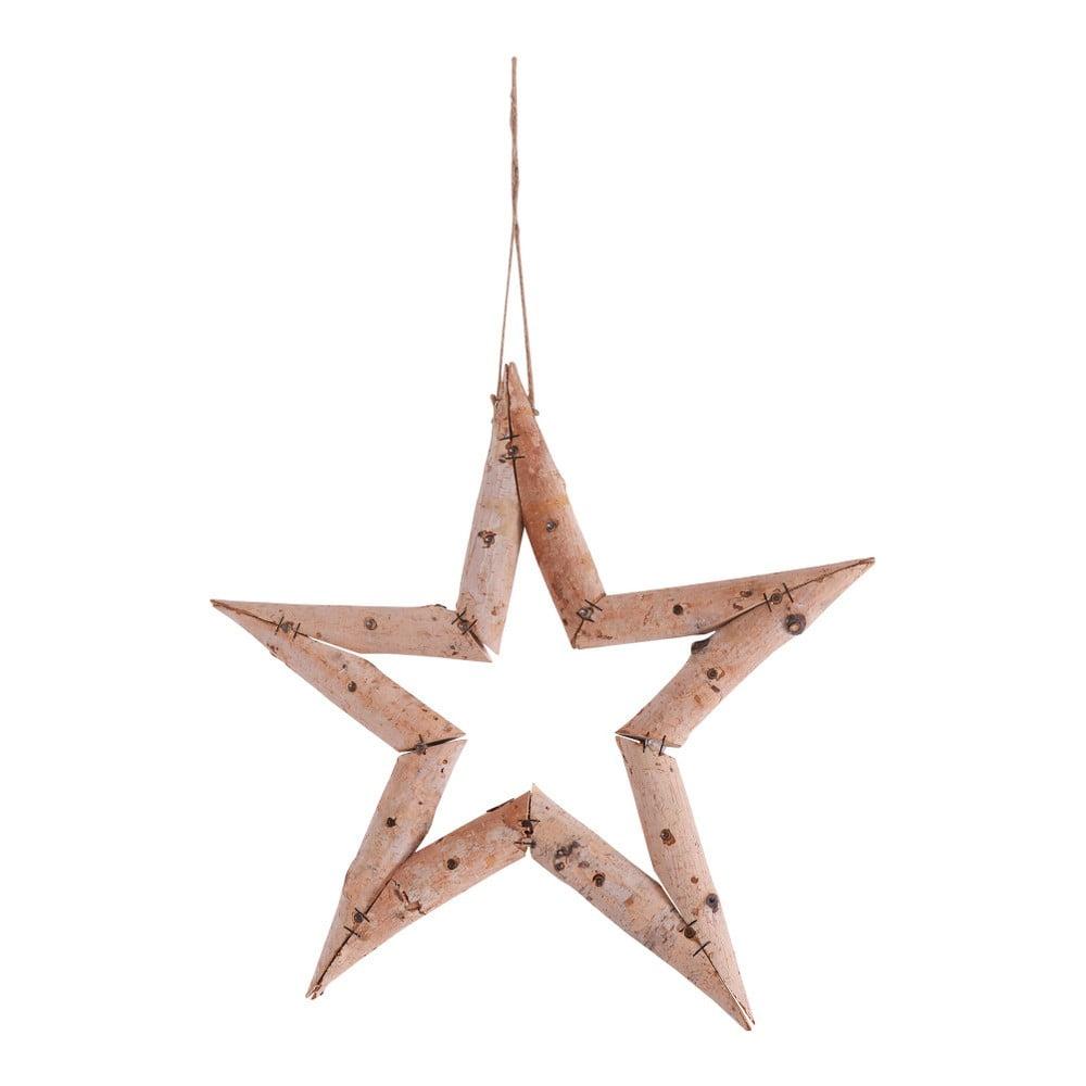 a89d61976 Závesná dekorácia v tvare hviezdy Naeve, Ø 35 cm | Bonami