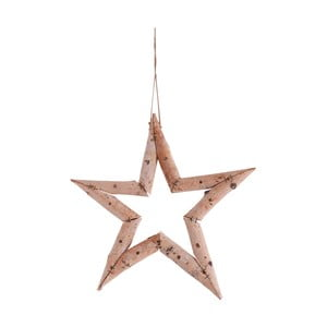 Závesná dekorácia v tvare hviezdy Naeve, Ø 35 cm