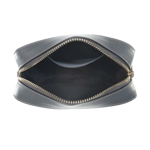 Kožená listová kabelka Little High Grey