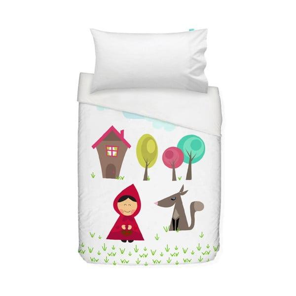 Detské bavlnené obliečky na paplón a vankúš Mr. Fox Grandma, 100 × 120 cm