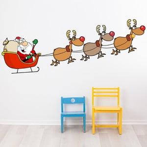 Vianočná samolepka Fanastick Joyeux Et sos Rennes