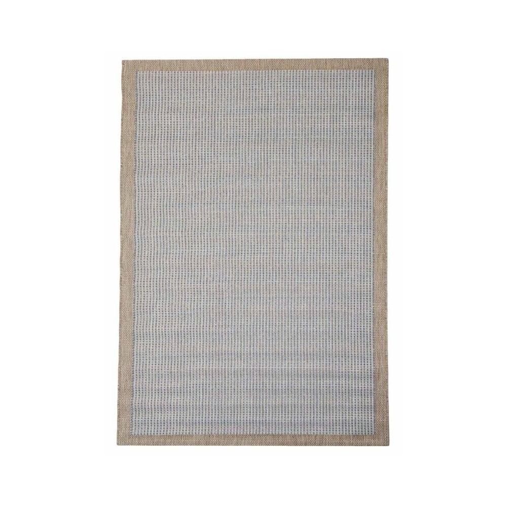 Modrý vonkajší koberec do exteriéru Floorita Chrome, 135 × 190 cm