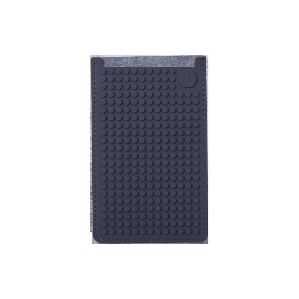 Univerzálny veľký obal na telefón PixelArt, grey/grey