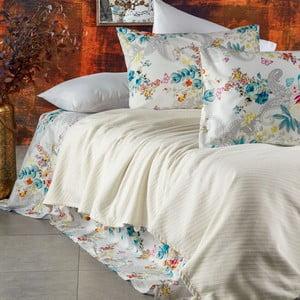 Sada posteľnej bielizne zo 100% bavlny Marie Lou Garden Orchidea