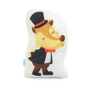Bavlnený vankúšik Mr. Fox Little Pigs, 40×30cm