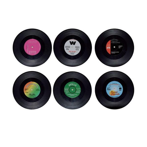 Sada 6 podložiek pod pohár Vinyl